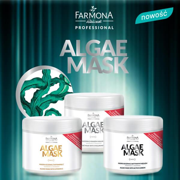 Algae mask Maska algowa
