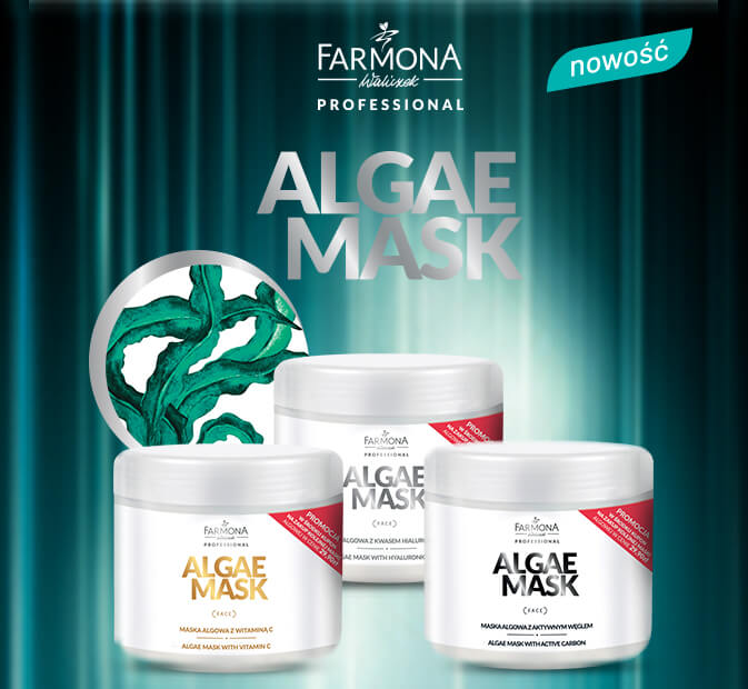 ALGAE MASK Maski do twarzy