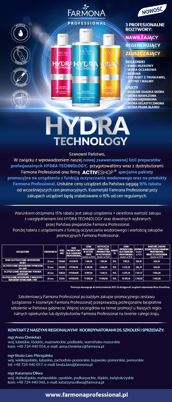 Hydra technology